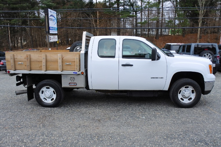 Used 2012 GMC Sierra 2500hd 4WD Ext Cab 144.2' Work Truck Used 2012 GMC Sierra 2500hd 4WD Ext Cab 144.2' Work Truck for sale  at Metro West Motorcars LLC in Shrewsbury MA 6