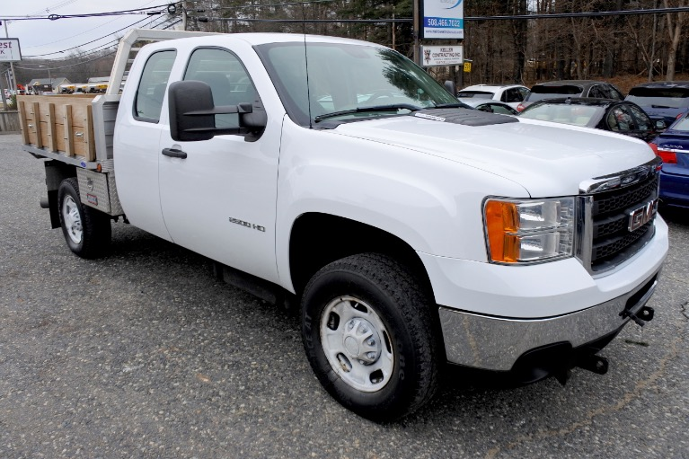 Used 2012 GMC Sierra 2500hd 4WD Ext Cab 144.2' Work Truck Used 2012 GMC Sierra 2500hd 4WD Ext Cab 144.2' Work Truck for sale  at Metro West Motorcars LLC in Shrewsbury MA 7