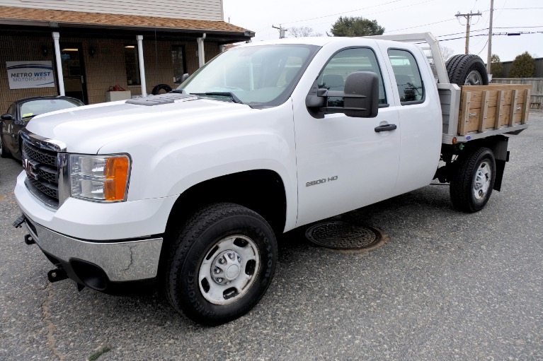 Used 2012 GMC Sierra 2500hd 4WD Ext Cab 144.2' Work Truck Used 2012 GMC Sierra 2500hd 4WD Ext Cab 144.2' Work Truck for sale  at Metro West Motorcars LLC in Shrewsbury MA 1