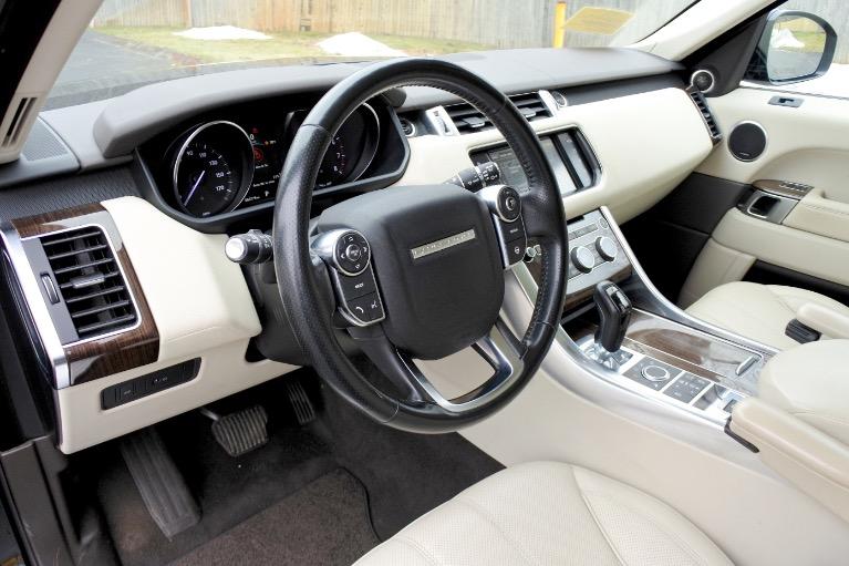 Used 2016 Land Rover Range Rover Sport HSE Used 2016 Land Rover Range Rover Sport HSE for sale  at Metro West Motorcars LLC in Shrewsbury MA 13