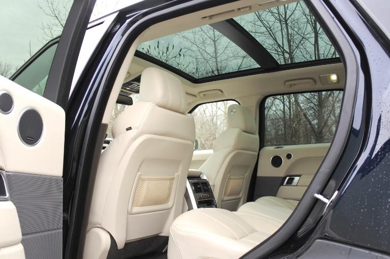 Used 2016 Land Rover Range Rover Sport HSE Used 2016 Land Rover Range Rover Sport HSE for sale  at Metro West Motorcars LLC in Shrewsbury MA 15