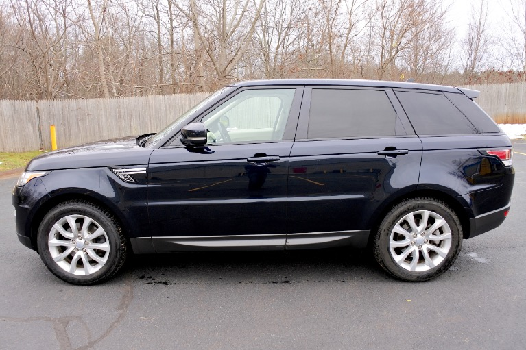 Used 2016 Land Rover Range Rover Sport HSE Used 2016 Land Rover Range Rover Sport HSE for sale  at Metro West Motorcars LLC in Shrewsbury MA 2