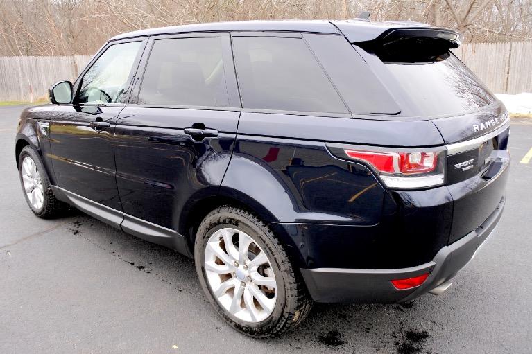 Used 2016 Land Rover Range Rover Sport HSE Used 2016 Land Rover Range Rover Sport HSE for sale  at Metro West Motorcars LLC in Shrewsbury MA 3