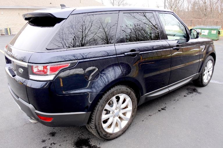 Used 2016 Land Rover Range Rover Sport HSE Used 2016 Land Rover Range Rover Sport HSE for sale  at Metro West Motorcars LLC in Shrewsbury MA 5