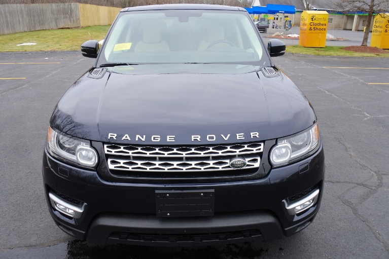 Used 2016 Land Rover Range Rover Sport HSE Used 2016 Land Rover Range Rover Sport HSE for sale  at Metro West Motorcars LLC in Shrewsbury MA 8