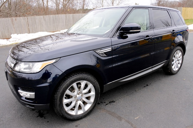 Used 2016 Land Rover Range Rover Sport HSE Used 2016 Land Rover Range Rover Sport HSE for sale  at Metro West Motorcars LLC in Shrewsbury MA 1