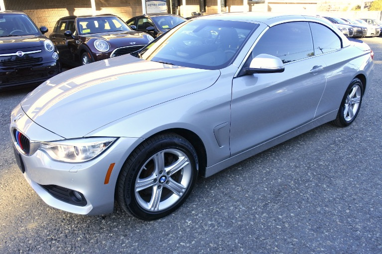Used 2014 BMW 4 Series 2dr Conv 428i xDrive AWD SULEV Used 2014 BMW 4 Series 2dr Conv 428i xDrive AWD SULEV for sale  at Metro West Motorcars LLC in Shrewsbury MA 2