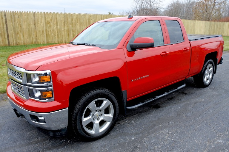 Used Used 2014 Chevrolet Silverado 1500 4WD Double Cab 143.5' LT w/1LT for sale $21,800 at Metro West Motorcars LLC in Shrewsbury MA