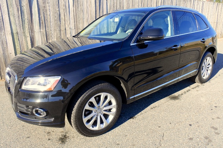 Used 2016 Audi Q5 quattro 2.0T Premium Used 2016 Audi Q5 quattro 2.0T Premium for sale  at Metro West Motorcars LLC in Shrewsbury MA 1