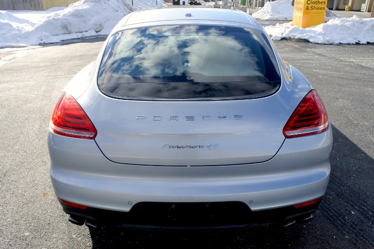 Used 2014 Porsche Panamera 4dr HB 4S Used 2014 Porsche Panamera 4dr HB 4S for sale  at Metro West Motorcars LLC in Shrewsbury MA 4