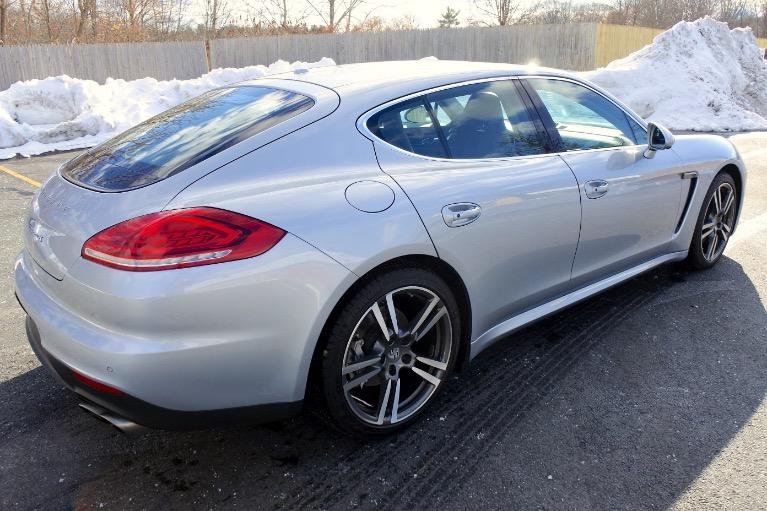 Used 2014 Porsche Panamera 4dr HB 4S Used 2014 Porsche Panamera 4dr HB 4S for sale  at Metro West Motorcars LLC in Shrewsbury MA 5