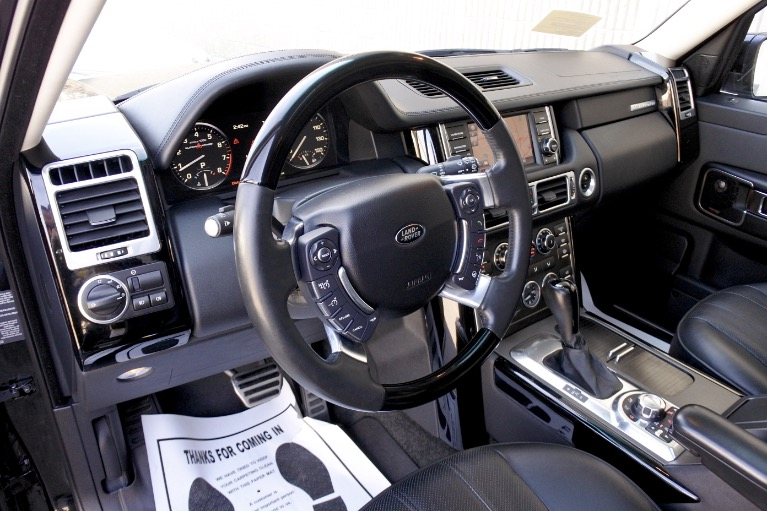 Used 2012 Land Rover Range Rover Supercharged Used 2012 Land Rover Range Rover Supercharged for sale  at Metro West Motorcars LLC in Shrewsbury MA 13