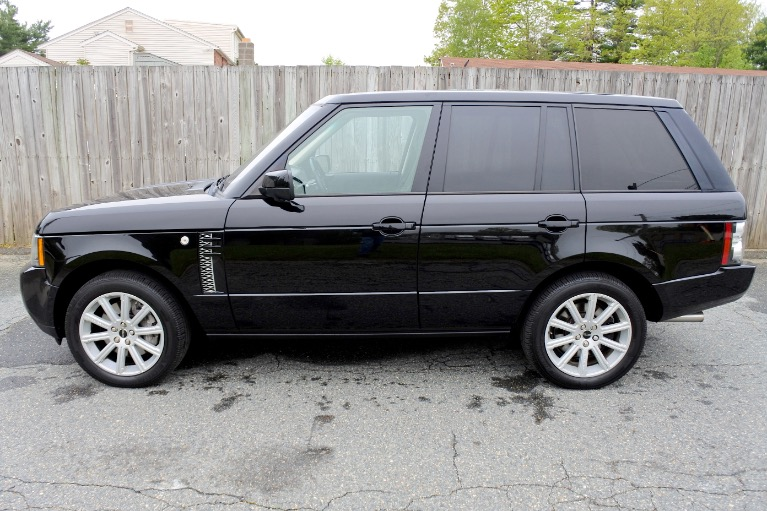 Used 2012 Land Rover Range Rover Supercharged Used 2012 Land Rover Range Rover Supercharged for sale  at Metro West Motorcars LLC in Shrewsbury MA 2