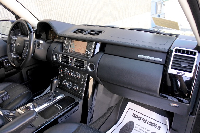 Used 2012 Land Rover Range Rover Supercharged Used 2012 Land Rover Range Rover Supercharged for sale  at Metro West Motorcars LLC in Shrewsbury MA 21