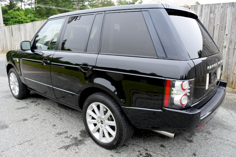Used 2012 Land Rover Range Rover Supercharged Used 2012 Land Rover Range Rover Supercharged for sale  at Metro West Motorcars LLC in Shrewsbury MA 3