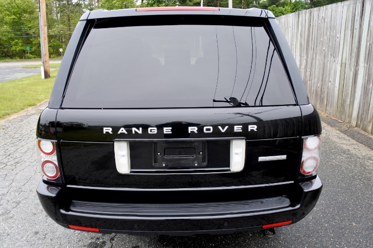Used 2012 Land Rover Range Rover Supercharged Used 2012 Land Rover Range Rover Supercharged for sale  at Metro West Motorcars LLC in Shrewsbury MA 4