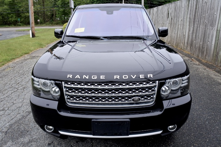 Used 2012 Land Rover Range Rover Supercharged Used 2012 Land Rover Range Rover Supercharged for sale  at Metro West Motorcars LLC in Shrewsbury MA 8