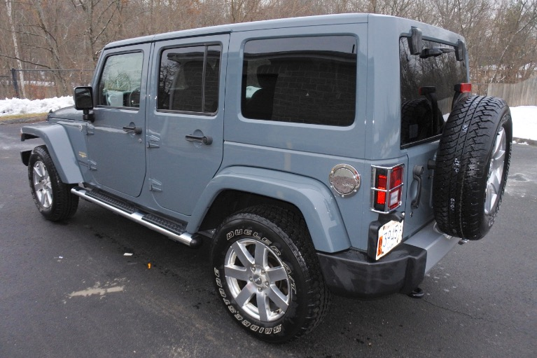 Used 2015 Jeep Wrangler Unlimited Sahara 4WD Used 2015 Jeep Wrangler Unlimited Sahara 4WD for sale  at Metro West Motorcars LLC in Shrewsbury MA 3