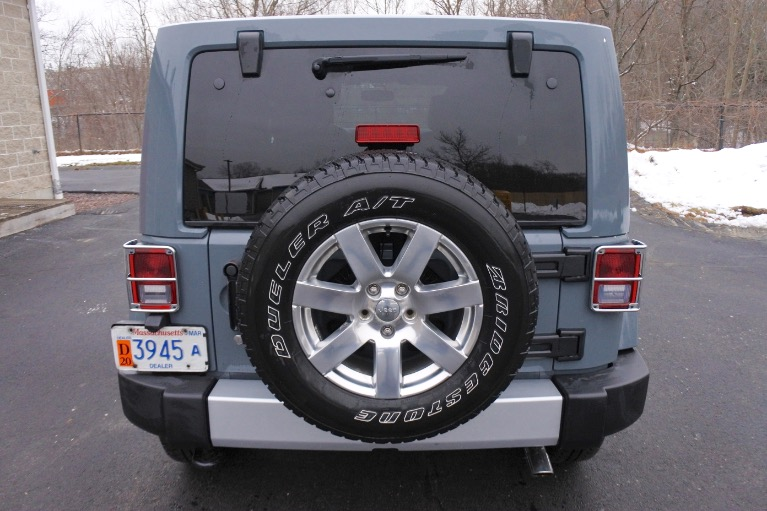 Used 2015 Jeep Wrangler Unlimited Sahara 4WD Used 2015 Jeep Wrangler Unlimited Sahara 4WD for sale  at Metro West Motorcars LLC in Shrewsbury MA 4