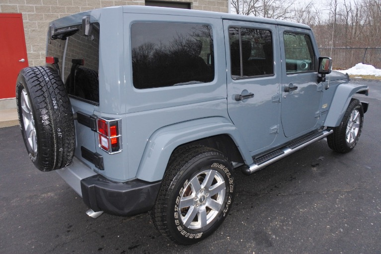 Used 2015 Jeep Wrangler Unlimited Sahara 4WD Used 2015 Jeep Wrangler Unlimited Sahara 4WD for sale  at Metro West Motorcars LLC in Shrewsbury MA 5