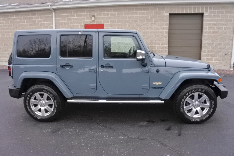 Used 2015 Jeep Wrangler Unlimited Sahara 4WD Used 2015 Jeep Wrangler Unlimited Sahara 4WD for sale  at Metro West Motorcars LLC in Shrewsbury MA 6