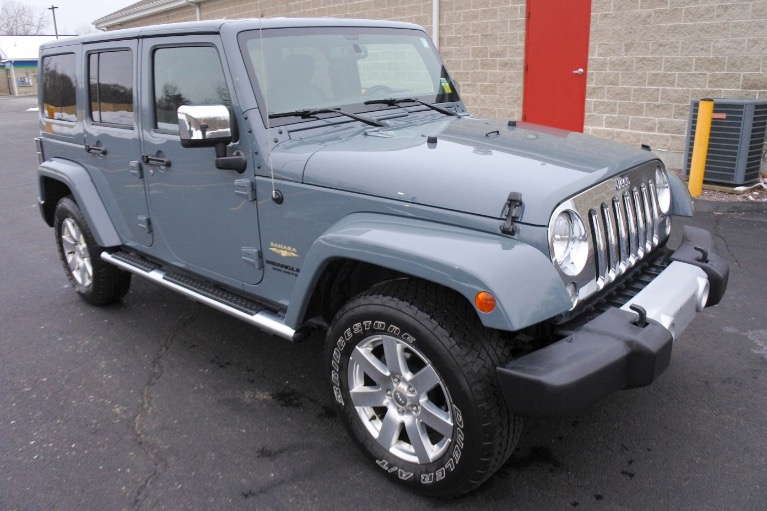 Used 2015 Jeep Wrangler Unlimited Sahara 4WD Used 2015 Jeep Wrangler Unlimited Sahara 4WD for sale  at Metro West Motorcars LLC in Shrewsbury MA 7