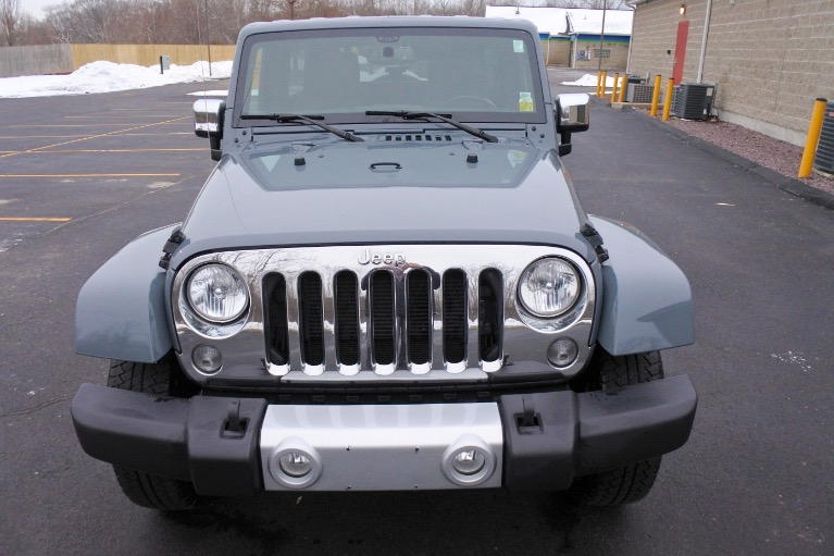 Used 2015 Jeep Wrangler Unlimited Sahara 4WD Used 2015 Jeep Wrangler Unlimited Sahara 4WD for sale  at Metro West Motorcars LLC in Shrewsbury MA 8