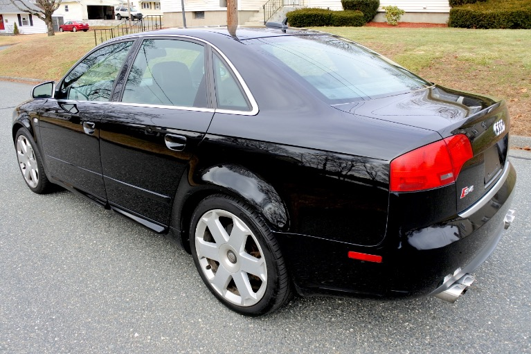 Used 2005 Audi S4 2005.5 4dr Sdn quattro Manual Used 2005 Audi S4 2005.5 4dr Sdn quattro Manual for sale  at Metro West Motorcars LLC in Shrewsbury MA 3