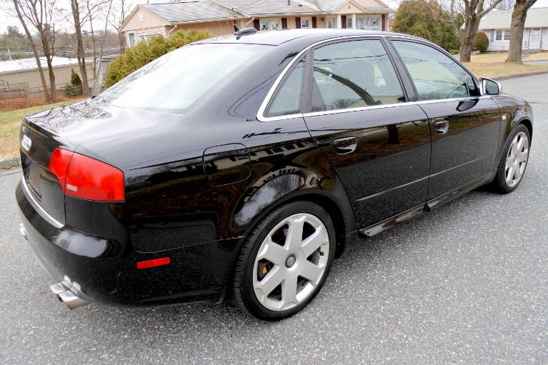 Used 2005 Audi S4 2005.5 4dr Sdn quattro Manual Used 2005 Audi S4 2005.5 4dr Sdn quattro Manual for sale  at Metro West Motorcars LLC in Shrewsbury MA 5