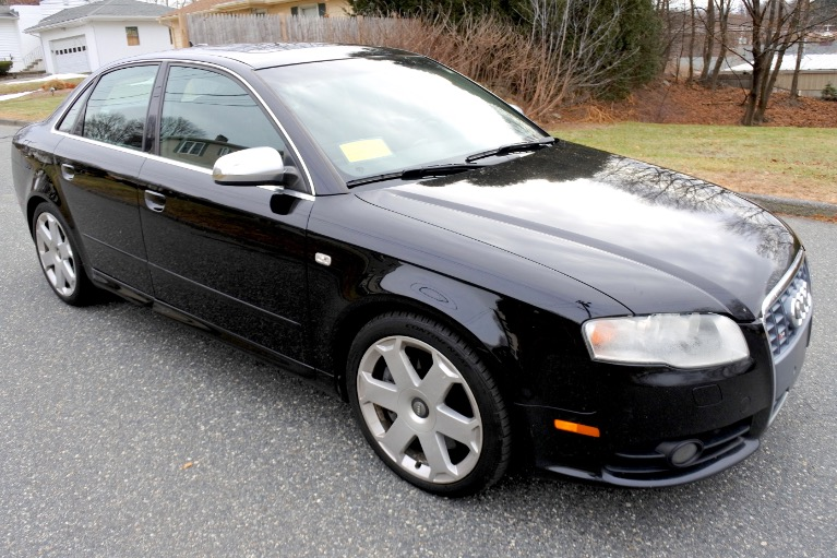Used 2005 Audi S4 2005.5 4dr Sdn quattro Manual Used 2005 Audi S4 2005.5 4dr Sdn quattro Manual for sale  at Metro West Motorcars LLC in Shrewsbury MA 7