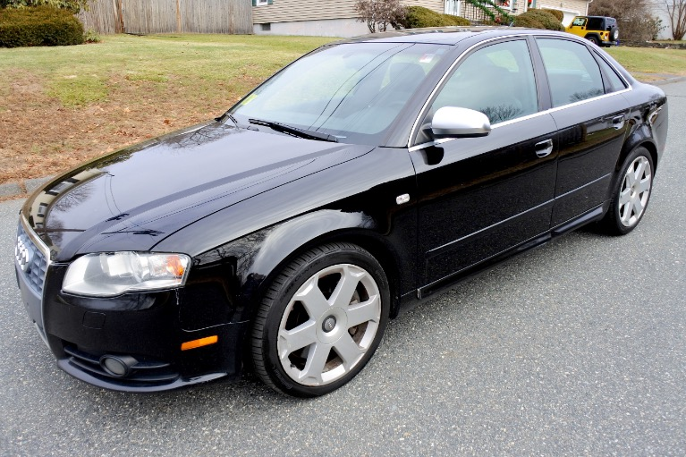 Used Used 2005 Audi S4 2005.5 4dr Sdn quattro Manual for sale $7,700 at Metro West Motorcars LLC in Shrewsbury MA