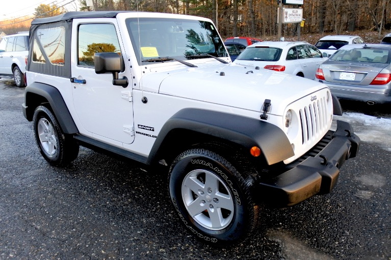 Used 2015 Jeep Wrangler 4WD 2dr Used 2015 Jeep Wrangler 4WD 2dr for sale  at Metro West Motorcars LLC in Shrewsbury MA 7