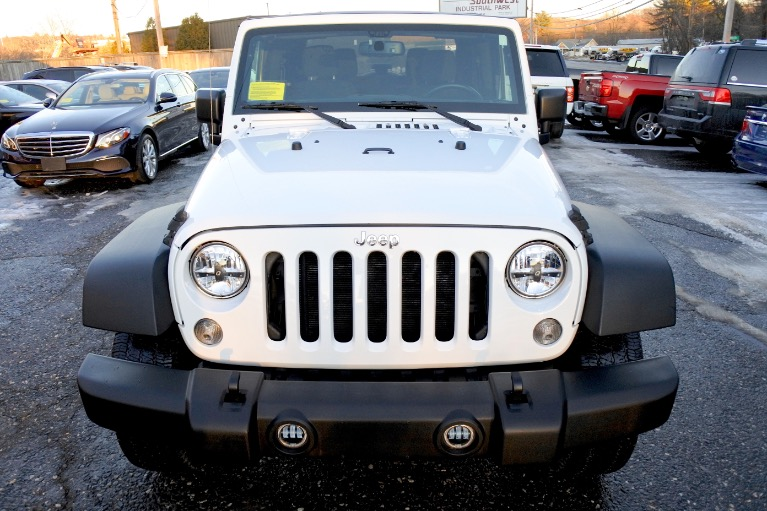 Used 2015 Jeep Wrangler 4WD 2dr Used 2015 Jeep Wrangler 4WD 2dr for sale  at Metro West Motorcars LLC in Shrewsbury MA 8