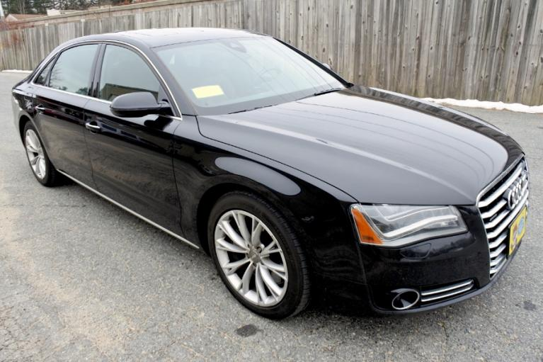 Used 2012 Audi A8 l 4.2 Quattro Used 2012 Audi A8 l 4.2 Quattro for sale  at Metro West Motorcars LLC in Shrewsbury MA 7