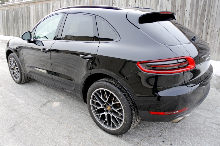 Used 2017 Porsche Macan S AWD Used 2017 Porsche Macan S AWD for sale  at Metro West Motorcars LLC in Shrewsbury MA 3