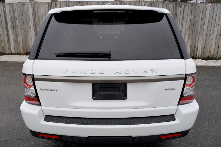 Used 2013 Land Rover Range Rover Sport HSE Used 2013 Land Rover Range Rover Sport HSE for sale  at Metro West Motorcars LLC in Shrewsbury MA 4