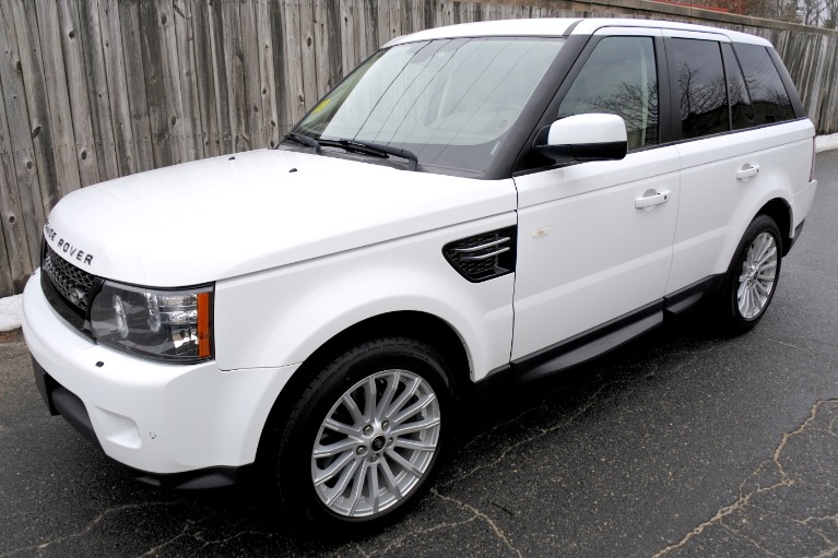 Used 2013 Land Rover Range Rover Sport HSE Used 2013 Land Rover Range Rover Sport HSE for sale  at Metro West Motorcars LLC in Shrewsbury MA 1