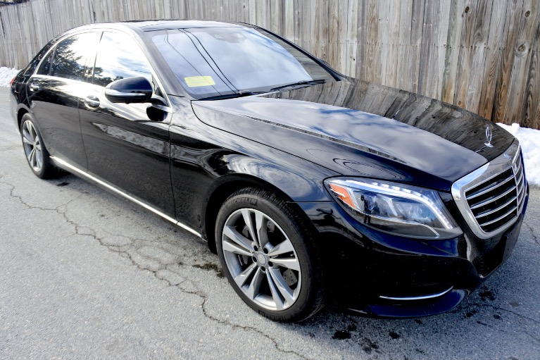 Used 2016 Mercedes-Benz S-class 4dr Sdn S 550 4MATIC Used 2016 Mercedes-Benz S-class 4dr Sdn S 550 4MATIC for sale  at Metro West Motorcars LLC in Shrewsbury MA 7