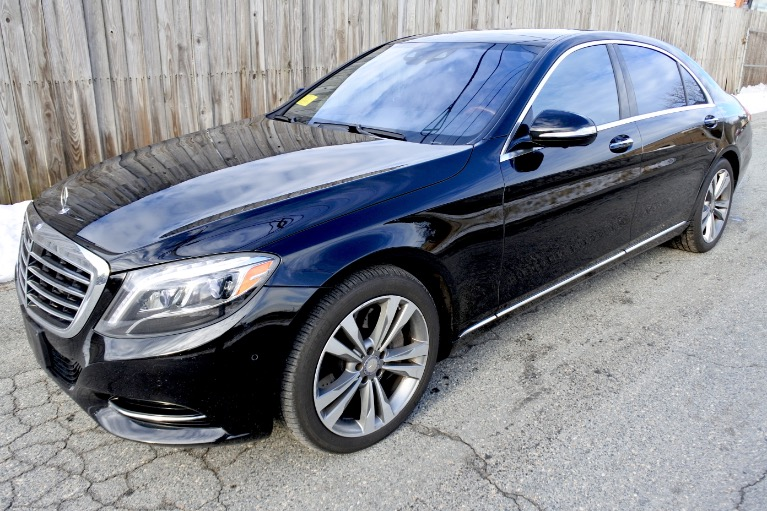 Used 2016 Mercedes-Benz S-class 4dr Sdn S 550 4MATIC Used 2016 Mercedes-Benz S-class 4dr Sdn S 550 4MATIC for sale  at Metro West Motorcars LLC in Shrewsbury MA 1