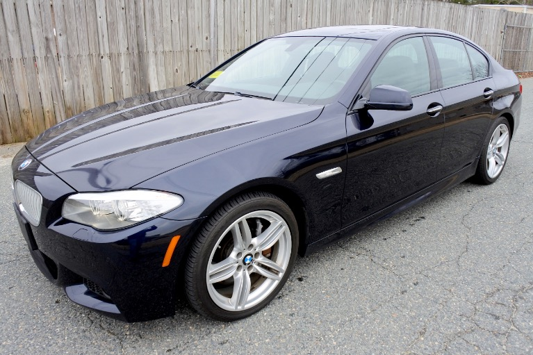 Used Used 2013 BMW 5 Series 550i xDrive AWD for sale $13,800 at Metro West Motorcars LLC in Shrewsbury MA