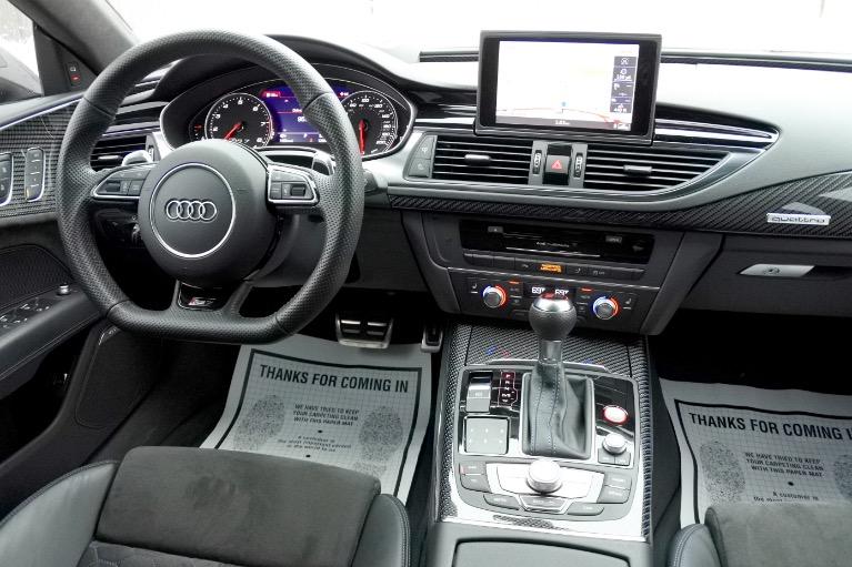 Used 2018 Audi Rs 7 4.0 TFSI performance Used 2018 Audi Rs 7 4.0 TFSI performance for sale  at Metro West Motorcars LLC in Shrewsbury MA 10