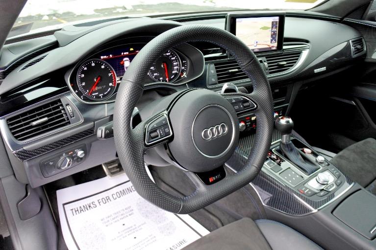 Used 2018 Audi Rs 7 4.0 TFSI performance Used 2018 Audi Rs 7 4.0 TFSI performance for sale  at Metro West Motorcars LLC in Shrewsbury MA 13