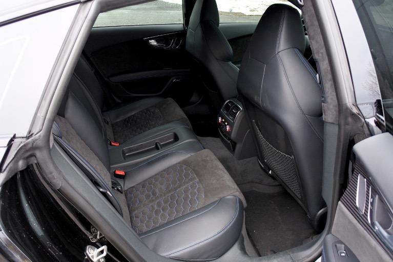 Used 2018 Audi Rs 7 4.0 TFSI performance Used 2018 Audi Rs 7 4.0 TFSI performance for sale  at Metro West Motorcars LLC in Shrewsbury MA 18