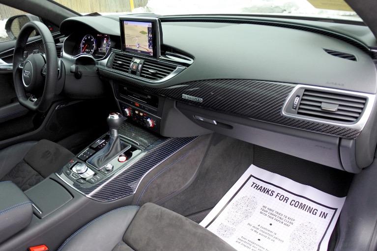 Used 2018 Audi Rs 7 4.0 TFSI performance Used 2018 Audi Rs 7 4.0 TFSI performance for sale  at Metro West Motorcars LLC in Shrewsbury MA 20
