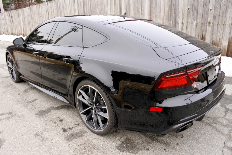 Used 2018 Audi Rs 7 4.0 TFSI performance Used 2018 Audi Rs 7 4.0 TFSI performance for sale  at Metro West Motorcars LLC in Shrewsbury MA 3