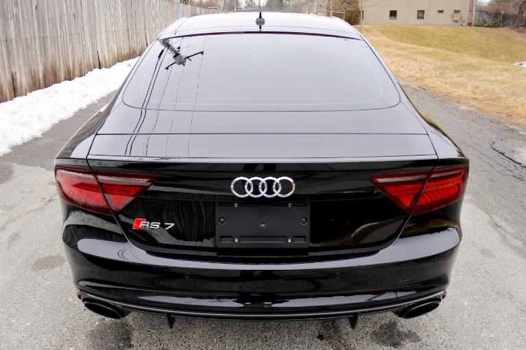 Used 2018 Audi Rs 7 4.0 TFSI performance Used 2018 Audi Rs 7 4.0 TFSI performance for sale  at Metro West Motorcars LLC in Shrewsbury MA 4