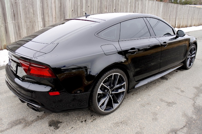 Used 2018 Audi Rs 7 4.0 TFSI performance Used 2018 Audi Rs 7 4.0 TFSI performance for sale  at Metro West Motorcars LLC in Shrewsbury MA 5