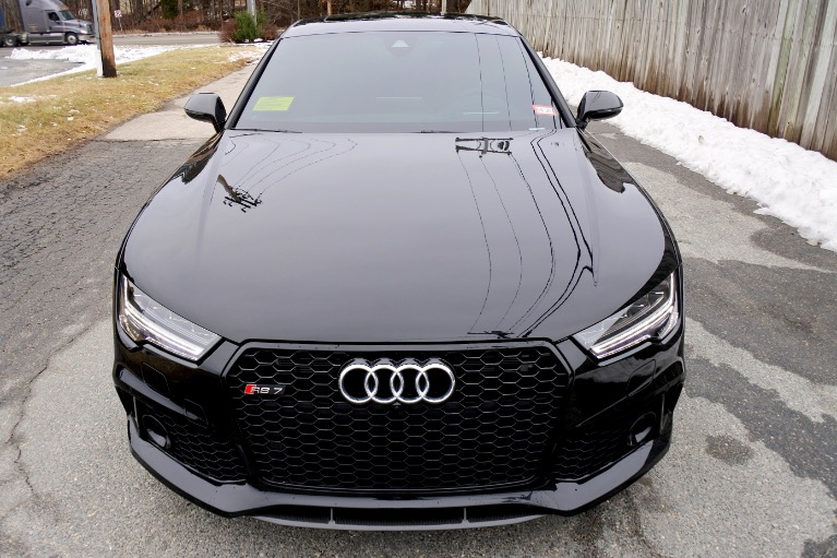 Used 2018 Audi Rs 7 4.0 TFSI performance Used 2018 Audi Rs 7 4.0 TFSI performance for sale  at Metro West Motorcars LLC in Shrewsbury MA 8