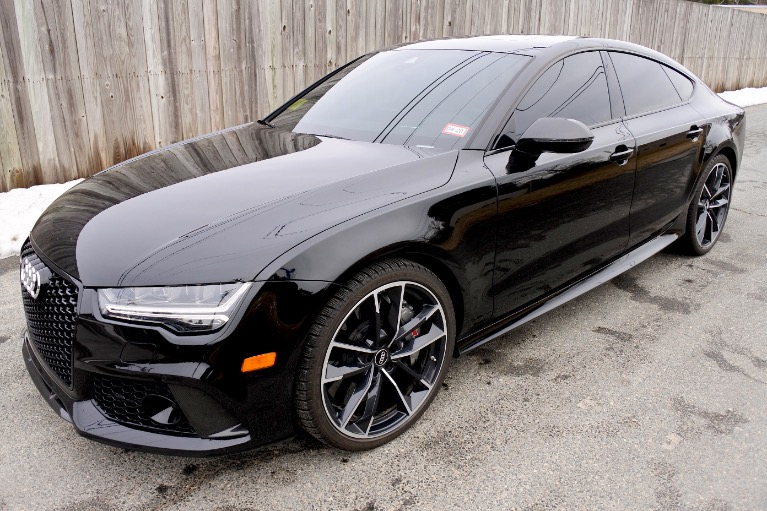 Used 2018 Audi Rs 7 4.0 TFSI performance Used 2018 Audi Rs 7 4.0 TFSI performance for sale  at Metro West Motorcars LLC in Shrewsbury MA 1