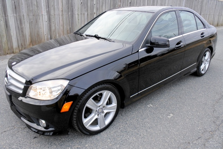 Used Used 2010 Mercedes-Benz C-class 4dr Sdn C300 Sport 4MATIC for sale $8,900 at Metro West Motorcars LLC in Shrewsbury MA